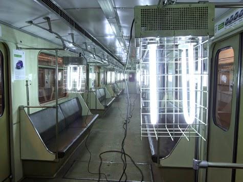 Дезинфекция поездов